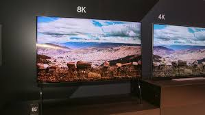Samsung Tv 8k Qled Cnet 004samsung8ktvces2018 Samsung Q9s 85inch Tv Uses Ai To Make Its Own 8k Video At Ces Cnet