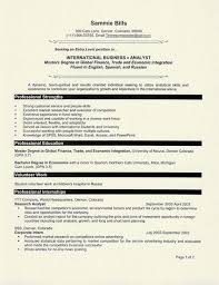 Resume Examples For Graduate Students | Resume Examples And Free