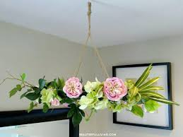 diy spring flower wreath wreaths ideas for front door crafts hanging fl chandelier how to