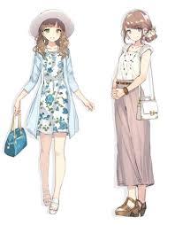 Anime Girl Anime Fashion2019 可愛い 髪型 イラスト絵 アニメ