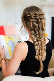 Luxy Hair Style layered braid hairstyle tutorial luxy hair 8982 by wearticles.com