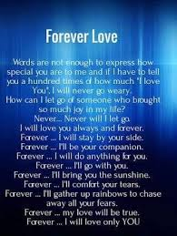 Forever Love Quotes Simple Distance Quotes You Are My Forever Love And Even Then Forever Isn