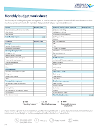 How To Make A Monthly Budget