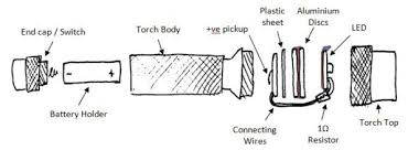 led torch flashlight conversion design tg s electronic the