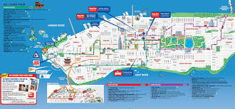 download map of new york city landmarks  major tourist