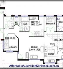 Small Picture Simple 4 Bedroom House Floor Plans Simple House Designs 2 Bedroom