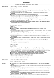 Download Urban Planner Resume Sample as Image file