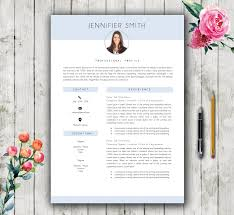 Resume Template 5 Pages Modern Stylish Teacher Cv Template
