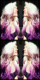 Purpke Blonde Ombre Dyed Hair Annabiancahair