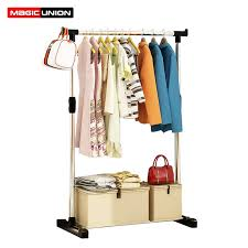Foldable Coat Rack Extraordinary Magic Union Single Pole Folding Metal Coat Rack Clothes Hanging