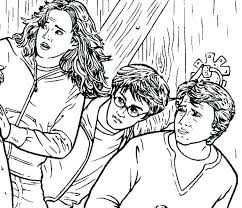 Harry Potter Coloring Pages Feat Harry Potter Coloring Pages For