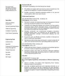 Sample Resume For Civil Engineering Student Best of Cv Template For Civil Engineers Carloseduardoco