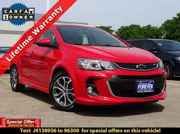 Certified Pre-Owned Chevrolet Sonic LT For Sale within 25 miles of ...