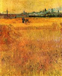 arles view from the wheat fields by van gogh print