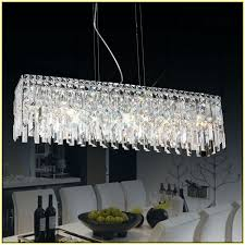 modern crystal chandelier rectangular rectangular crystal chandelier lighting