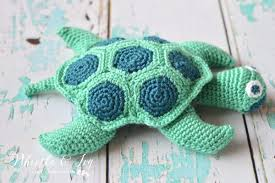 Free Crochet Turtle Pattern Extraordinary Crochet Sea Turtle Whistle And Ivy