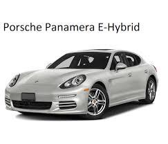 Porsche Panamera E-Hybrid Charging Cables
