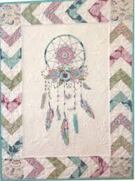 Dream Catcher Quilt Pattern DREAM A LITTLE wallhanging pattern by Petals and Patches 16
