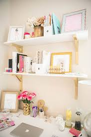 home office design quirky. Cute Office Decorating Ideas New Picture Photos On Eaefcaf Shelves Above Desk Gold Jpg Home Design Quirky I