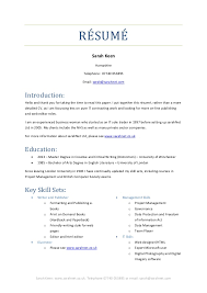 Nhs Resumes Good Skill Sets For Resumes Melo Yogawithjo Co Resume Ideas 11354