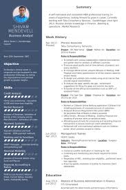 Sample Financial Associate Resume - Shalomhouse.us