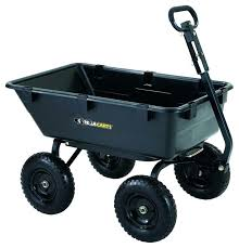 wagon cart wheel gorilla cart garden carts wagon lawn gardening outdoor mower tractor utility for