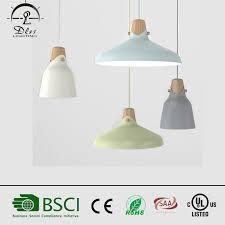 wood pendant lamp aluminum modern pendant light metal lighting