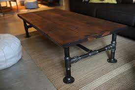 how to diy industrial coffee table