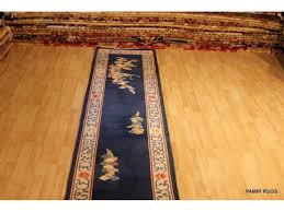 sold out 14 long chinese hall runner royal blue