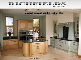 fitted kitchens ideas. Monarch Oak And Painted English Blue Fitted Kitchen View Our Entire Range Gallery On Kitchens Ideas A