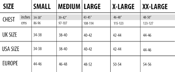 Elite Sports Size Chart Pick The Right Size Via This Size Chart By Squat Wolf