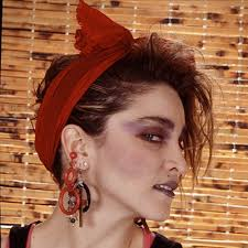 madonna gave so much good hair in the 80s but our favorite was her slightly