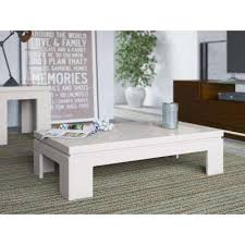 Great Bridge Off White Coffee Table