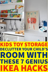 kids toy storage ideas declutter your child s room with these 7 genius ikea s