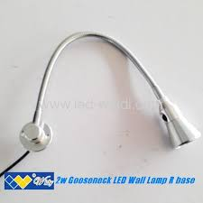 silver led wall spot lamp from china