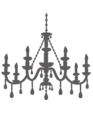 chandelier template chandelier clip art library free