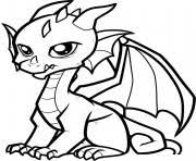 Dragons comes in various sizes and features. Dragon Coloring Pages To Print Dragon Printable