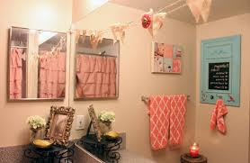 Bathroom:Pink And Goldroom Decor Gray Tiled Shelving Small Magnificent  Picture Design Set 96 Magnificent