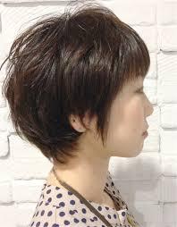 ショートレイヤーボブonパーマ Woltif ウルティフのヘアスタイル