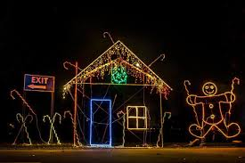 More Than A Million Lights Create Christmas Scene At