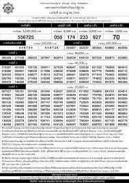 ใบตรวจหวย 16/07/64 ดาวน์โหลดใบตรวจรางวัล เรียงเบอร์
