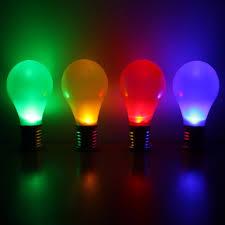 Where Can I Buy Coloured Light Bulbs Solar Hanging Coloured Light Bulbs 4 Pack