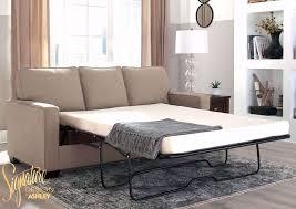 zeb sleeper sofa beige full home
