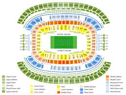 Ou Texas Cotton Bowl Seating Chart Best Seats At At T Stadium