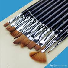 paint brushes watercolor gouache acrylic art craft artist oil painting drawing paint brush art supplie painting paint brushes watercolor gouache acrylic