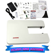 Janome 4120qdc B Computerized Quilting And Sewing Machine With Bonus Quilt Kit