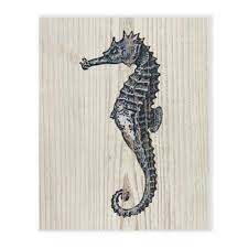 seahorse canvas wall art