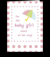 Baby Girl Shower Congratulations