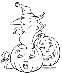 Halloween Pumpkins Coloring Pages - GetColoringPages.com