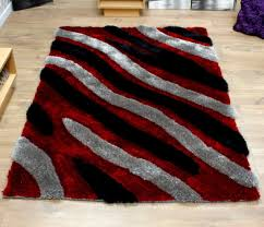 red grey and black rugs